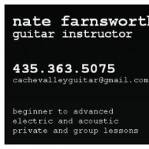 nate farnsworth guitar lessons in logan ut. Black Bedroom Furniture Sets. Home Design Ideas