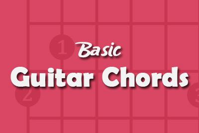 more guitar chord charts basic guitar chords