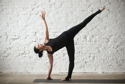 extended side angle pose how to benefits variations