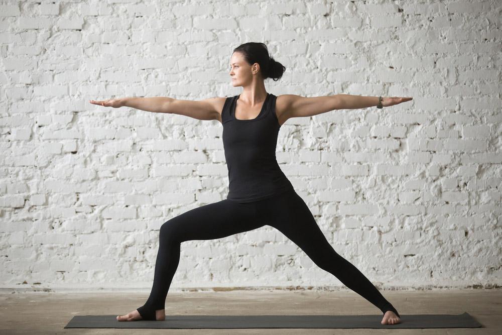 How to do Warrior II Pose (Virabhadrasana II) // Lessons.com