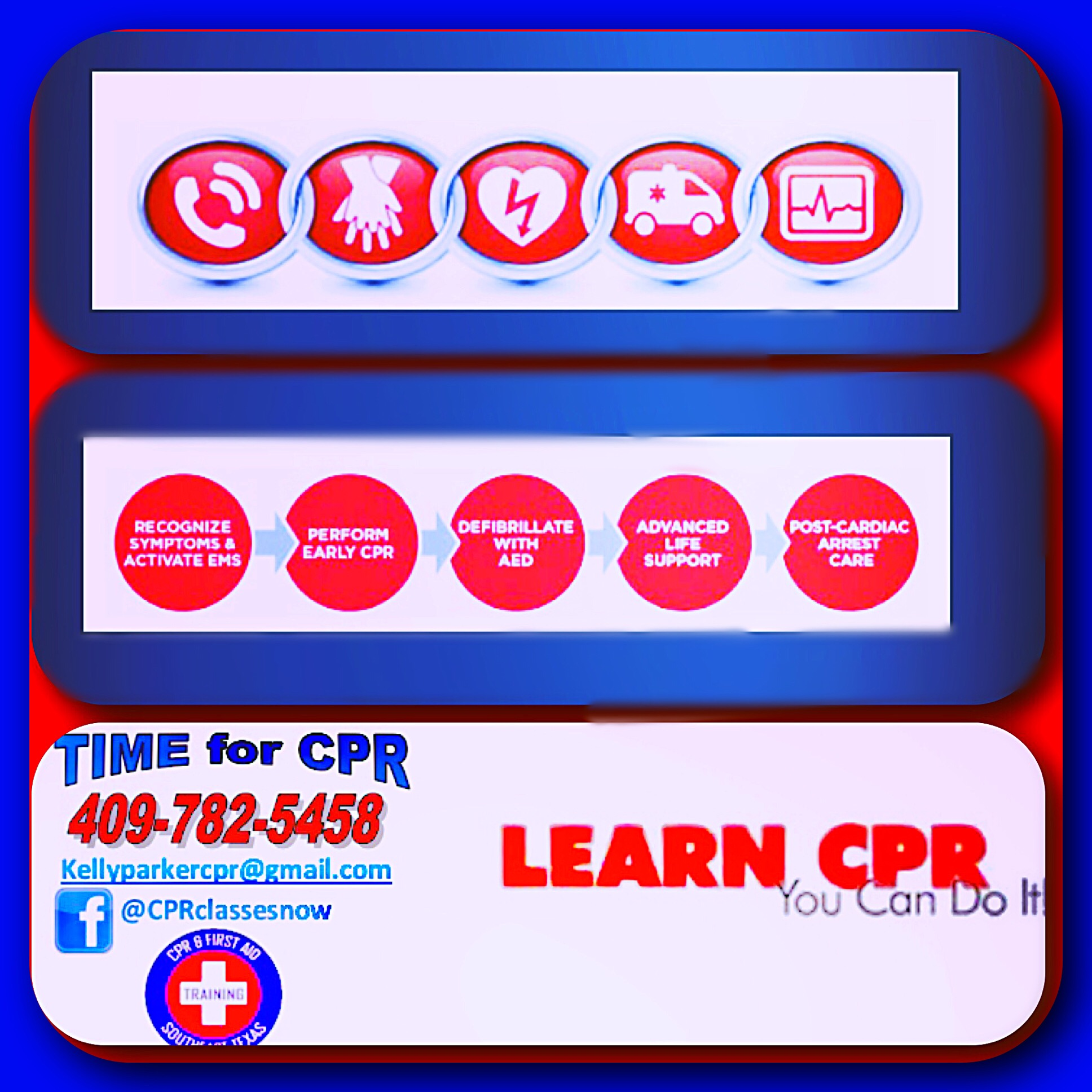 cpr southeast aid texas training tx lessons