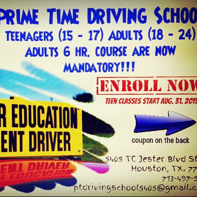 Prime Time Driving School In Houston Tx Lessonscom