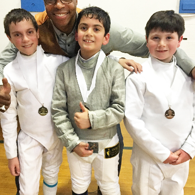 Thrust Fencing Academy - Head Coach Mika'il Sankofa, Three Time US Olympian